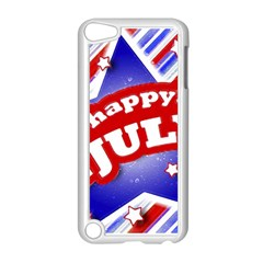 4th Of July Celebration Design Apple Ipod Touch 5 Case (white) by dflcprints