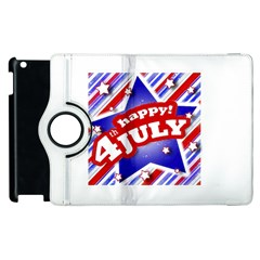 4th of July Celebration Design Apple iPad 2 Flip 360 Case by dflcprints