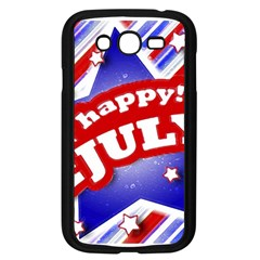 4th of July Celebration Design Samsung Galaxy Grand DUOS I9082 Case (Black) by dflcprints
