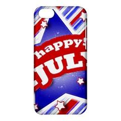 4th Of July Celebration Design Apple Iphone 5c Hardshell Case by dflcprints