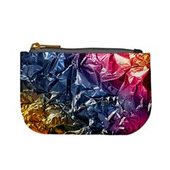 Texture   Rainbow Foil By Dori Stock Coin Change Purse by TheWowFactor