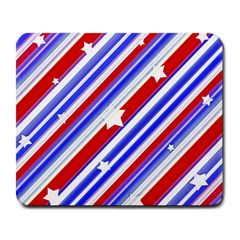 American Motif Large Mouse Pad (rectangle) by dflcprints