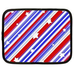 American Motif Netbook Sleeve (Large) by dflcprints