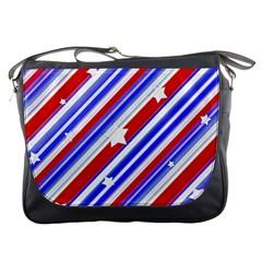 American Motif Messenger Bag by dflcprints