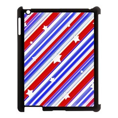 American Motif Apple Ipad 3/4 Case (black) by dflcprints