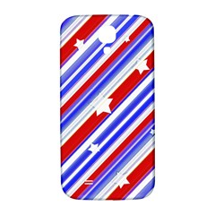 American Motif Samsung Galaxy S4 I9500/i9505  Hardshell Back Case by dflcprints