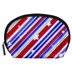 American Motif Accessory Pouch (large) by dflcprints