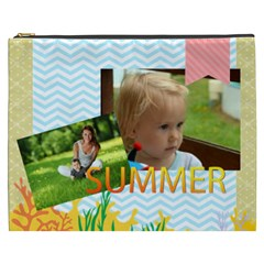 Summer By Summer Time    Cosmetic Bag (xxxl)   Ip5hvsh9vsnk   Www Artscow Com Front