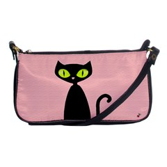 One Cool Cat Evening Bag by CrackedRadish