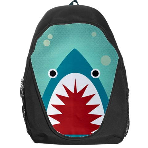 Shark By X   Backpack Bag   O702c0nx0ju8   Www Artscow Com Front