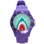 shark - Round Plastic Sport Watch (L)
