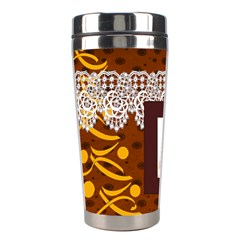 Christmas By Joely   Stainless Steel Travel Tumbler   Sw27mx281gwq   Www Artscow Com Left