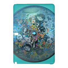 Led Zeppelin III Digital Art Samsung Galaxy Tab Pro 10.1 Hardshell Case