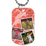 ny ann - Dog Tag (One Side)