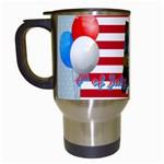 usa - Travel Mug (White)