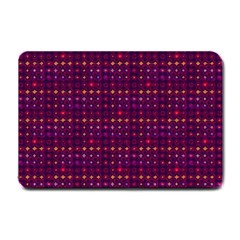Funky Retro Pattern Small Door Mat by SaraThePixelPixie