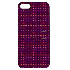 Funky Retro Pattern Apple Iphone 5 Hardshell Case With Stand by SaraThePixelPixie