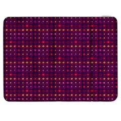 Funky Retro Pattern Samsung Galaxy Tab 7  P1000 Flip Case by SaraThePixelPixie