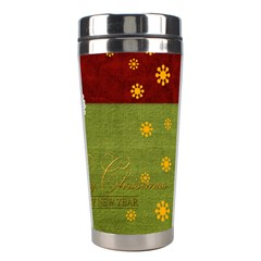 Christmas By Joely   Stainless Steel Travel Tumbler   Oop472m1d45f   Www Artscow Com Right