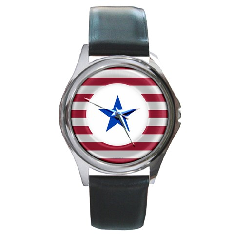 Star  By Susan   Round Metal Watch   Mweg76ntp9u5   Www Artscow Com Front