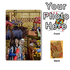Jack Burgueses By Santiago Eximeno   Playing Cards 54 Designs   Jx6viphmzjng   Www Artscow Com Front - ClubJ