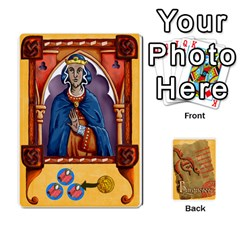 King Burgueses By Santiago Eximeno   Playing Cards 54 Designs   Jx6viphmzjng   Www Artscow Com Front - ClubK