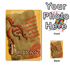 Burgueses By Santiago Eximeno   Playing Cards 54 Designs   Jx6viphmzjng   Www Artscow Com Back