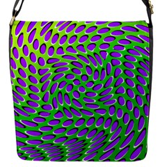 Illusion Delusion Flap Closure Messenger Bag (small) by SaraThePixelPixie