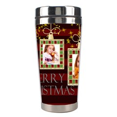 Christmas By Joely   Stainless Steel Travel Tumbler   Ayagk7pher4r   Www Artscow Com Center