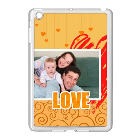 Love By Joely   Apple Ipad Mini Case (white)   Vntqe48j1g5q   Www Artscow Com Front
