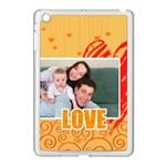 love - Apple iPad Mini Case (White)
