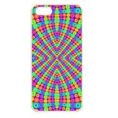Many Circles Apple Iphone 5 Seamless Case (white) by SaraThePixelPixie