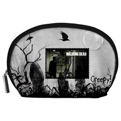 The Walking Dead By Julie   Accessory Pouch (large)   M8n5r8v14crk   Www Artscow Com Front