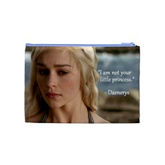 Game Of Thrones By Veronica   Cosmetic Bag (medium)   5ltdn0leivpb   Www Artscow Com Back