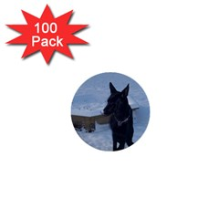 Snowy Gsd 1  Mini Button (100 Pack) by StuffOrSomething