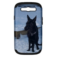 Snowy Gsd Samsung Galaxy S Iii Hardshell Case (pc+silicone) by StuffOrSomething
