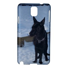 Snowy Gsd Samsung Galaxy Note 3 N9005 Hardshell Case by StuffOrSomething