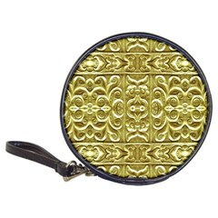 Gold Plated Ornament Cd Wallet by dflcprints