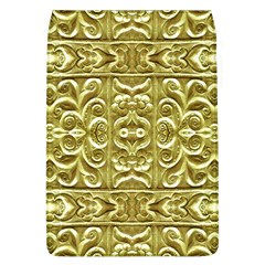 Gold Plated Ornament Removable Flap Cover (large) by dflcprints