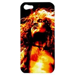Golden God Apple Iphone 5 Hardshell Case by SaraThePixelPixie