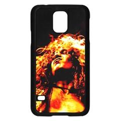 Golden God Samsung Galaxy S5 Case (black) by SaraThePixelPixie