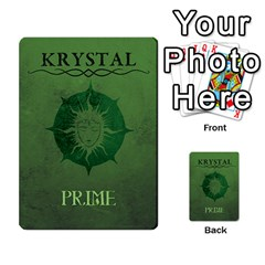 Krystal Primes Penalites By Jérôme Loludian Barthas   Multi Purpose Cards (rectangle)   Skyw4szw2eua   Www Artscow Com Back 9