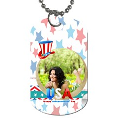 Usa By Usa   Dog Tag (two Sides)   2bonh1716vvr   Www Artscow Com Front