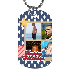 Usa By Usa   Dog Tag (two Sides)   F5xutb06j86w   Www Artscow Com Front