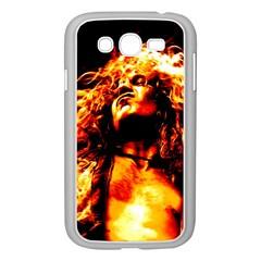 Golden God Samsung Galaxy Grand Duos I9082 Case (white) by SaraThePixelPixie