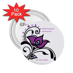 2015 Awareness Day 2 25  Button (10 Pack) by FunWithFibro