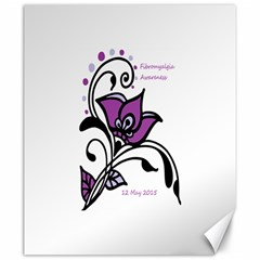 2015 Awareness Day Canvas 20  X 24  (unframed) by FunWithFibro