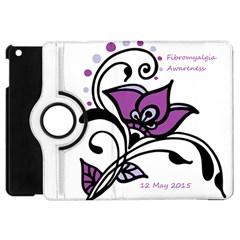 2015 Awareness Day Apple Ipad Mini Flip 360 Case by FunWithFibro