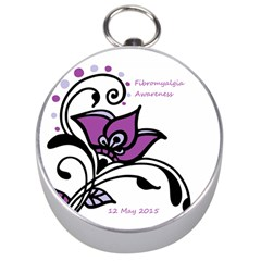 2015 Awareness Day Silver Compass by FunWithFibro