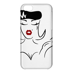 Pin Up Apple iPhone 5C Hardshell Case by EndlessVintage